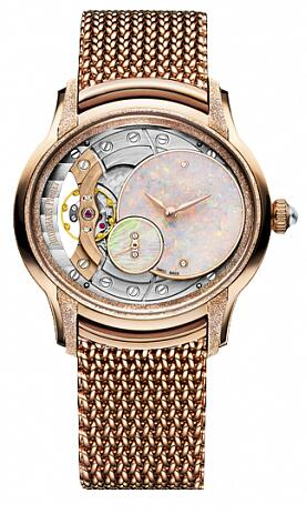 Replica Audemars Piguet 77244OR.GG.1272OR.01 Millenary FROSTED GOLD OPAL DIAL Ladies watch